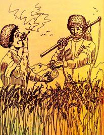 Adige Terbiyesine Dair İbretlik Bir Öykü. (Bir Tütün Versene Babalık.)